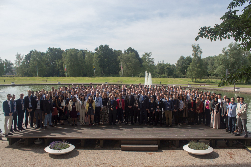 Figure 1: Group photo of (almost) all participants of ESCAPE-29